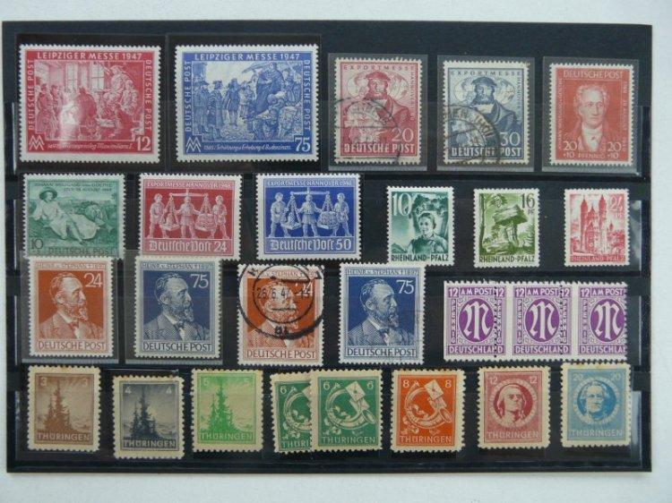Lot 1 Kiloware 50gr. Briefmarken Besatzung Besetzung ...