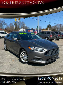 Ford Dealer Auburn Ma : dealer, auburn, Fusion, Auburn,, ROUTE, AUTOMOTIVE