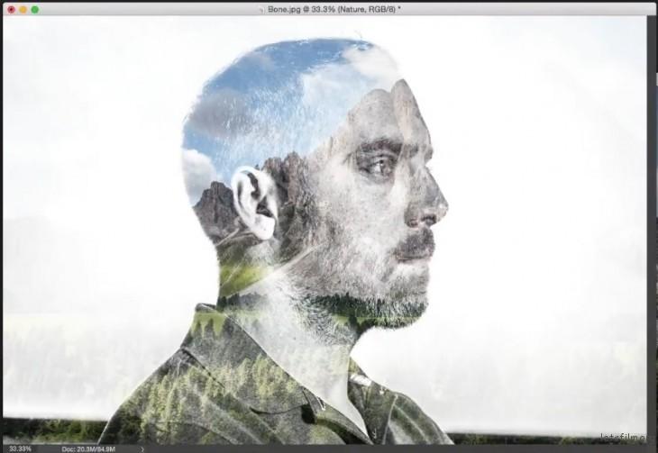 【PS教學】如何用Photoshop製造雙重曝光效果   DIGIPHOTO