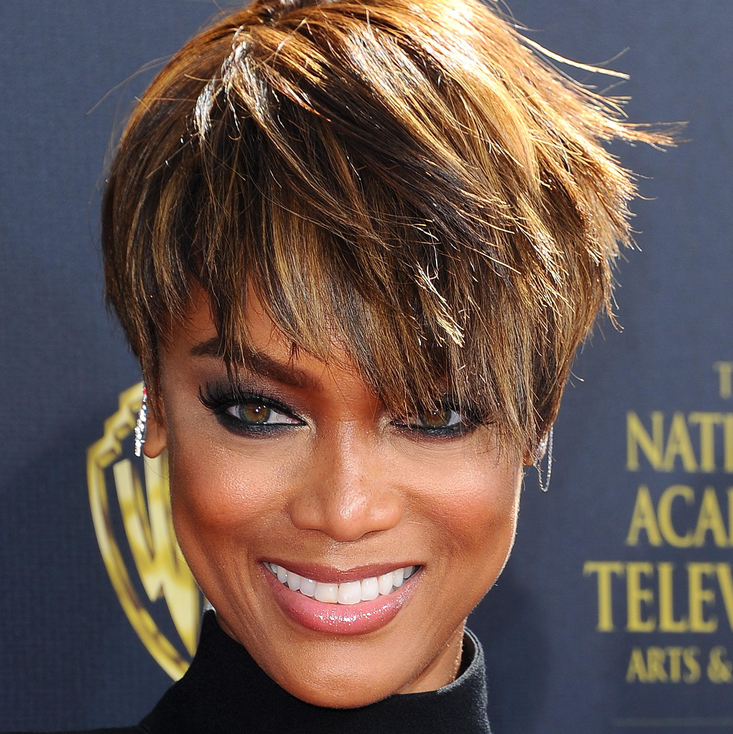Tyra Banks Est Passe La Pixie Cut Elle