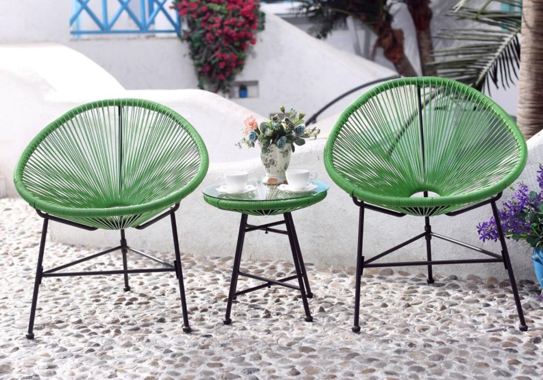 Salon de jardin pas cher  notre slection de meubles canons pour le jardin  Elle Dcoration