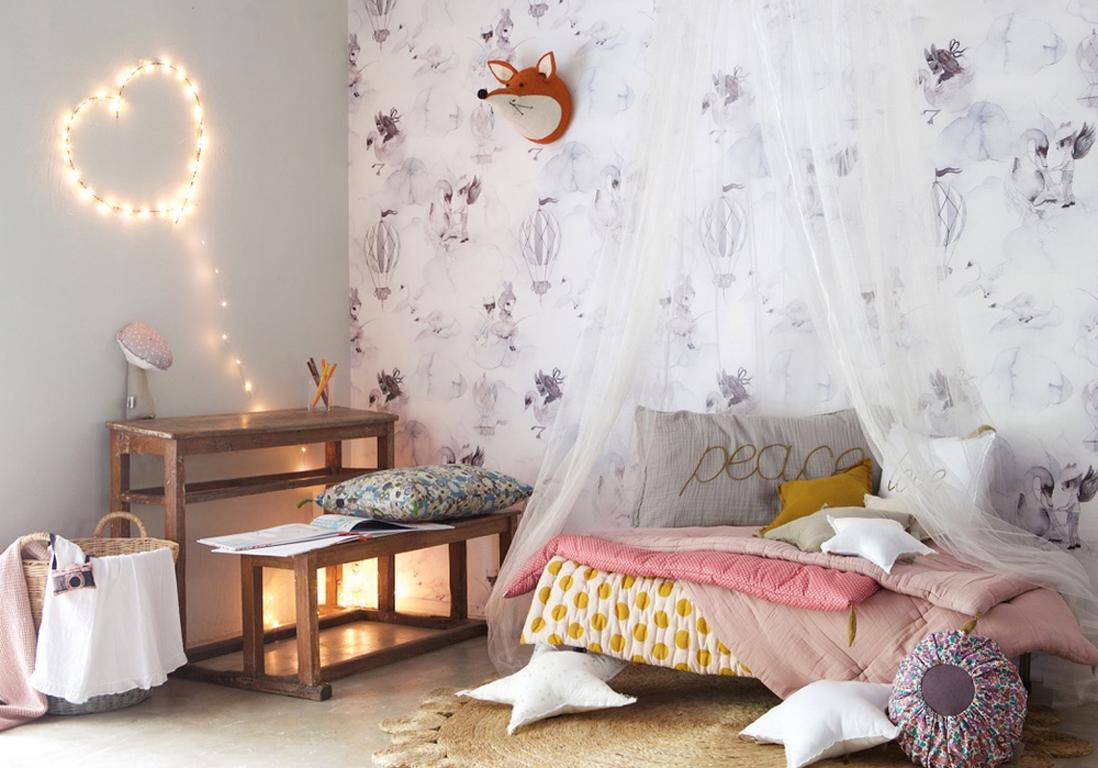 Les 30 plus belles chambres de petites filles  Elle Dcoration