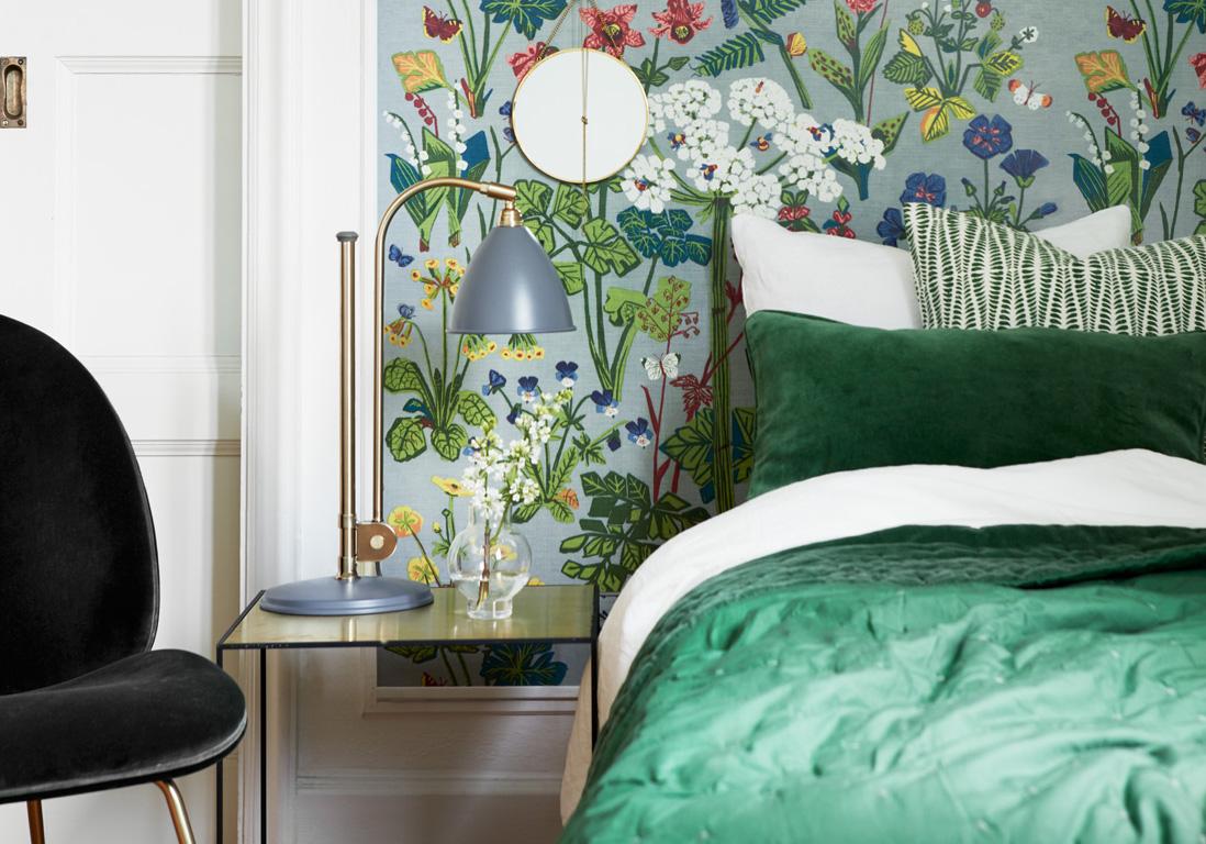 Chambre verte  les vertus dune chambre verte  Elle Dcoration