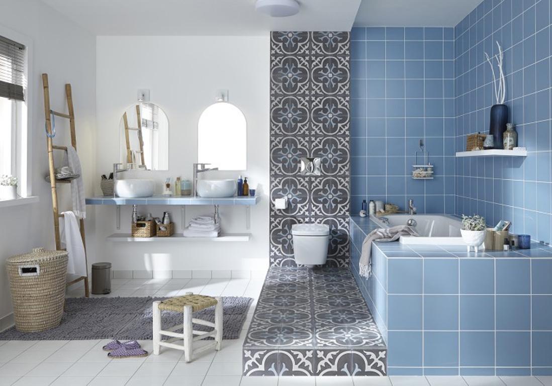 Salle De Bain Decoration Marocaine | Salle De Bain Inspiration Marocaine