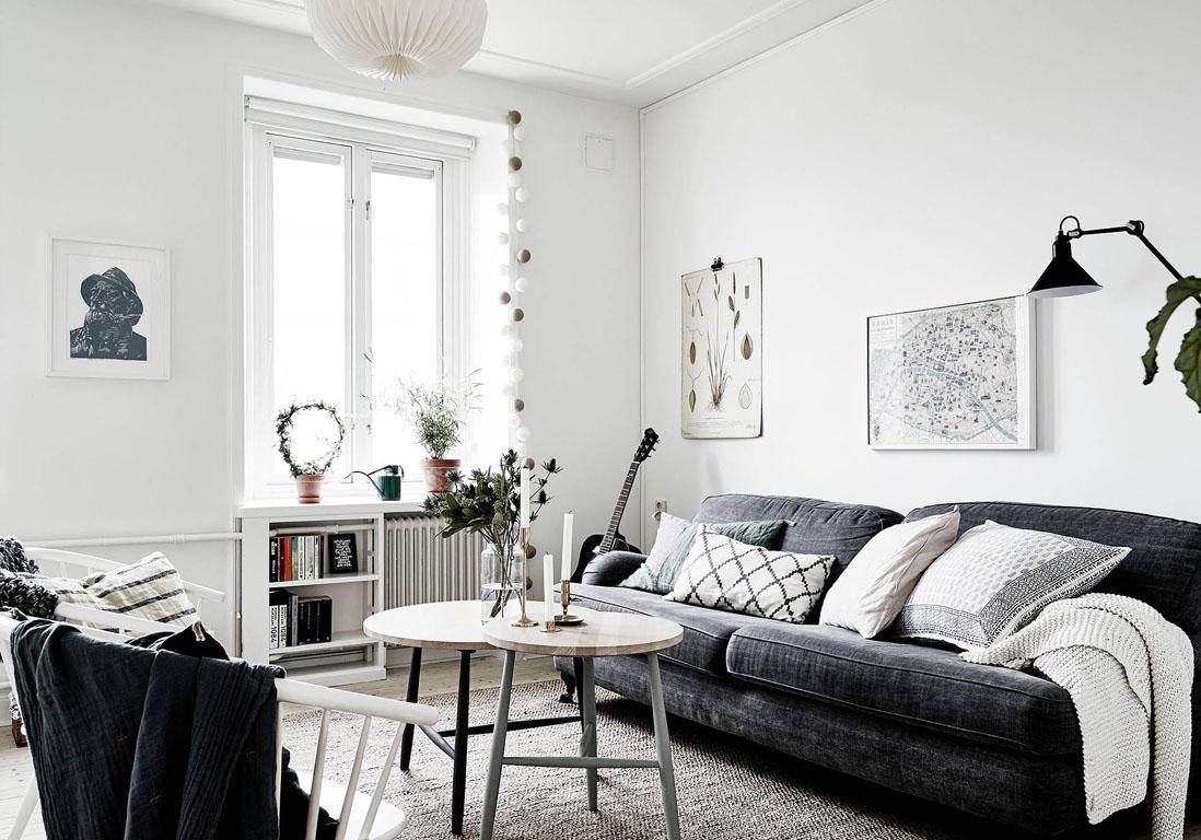 Salon Blanc Et Framboise