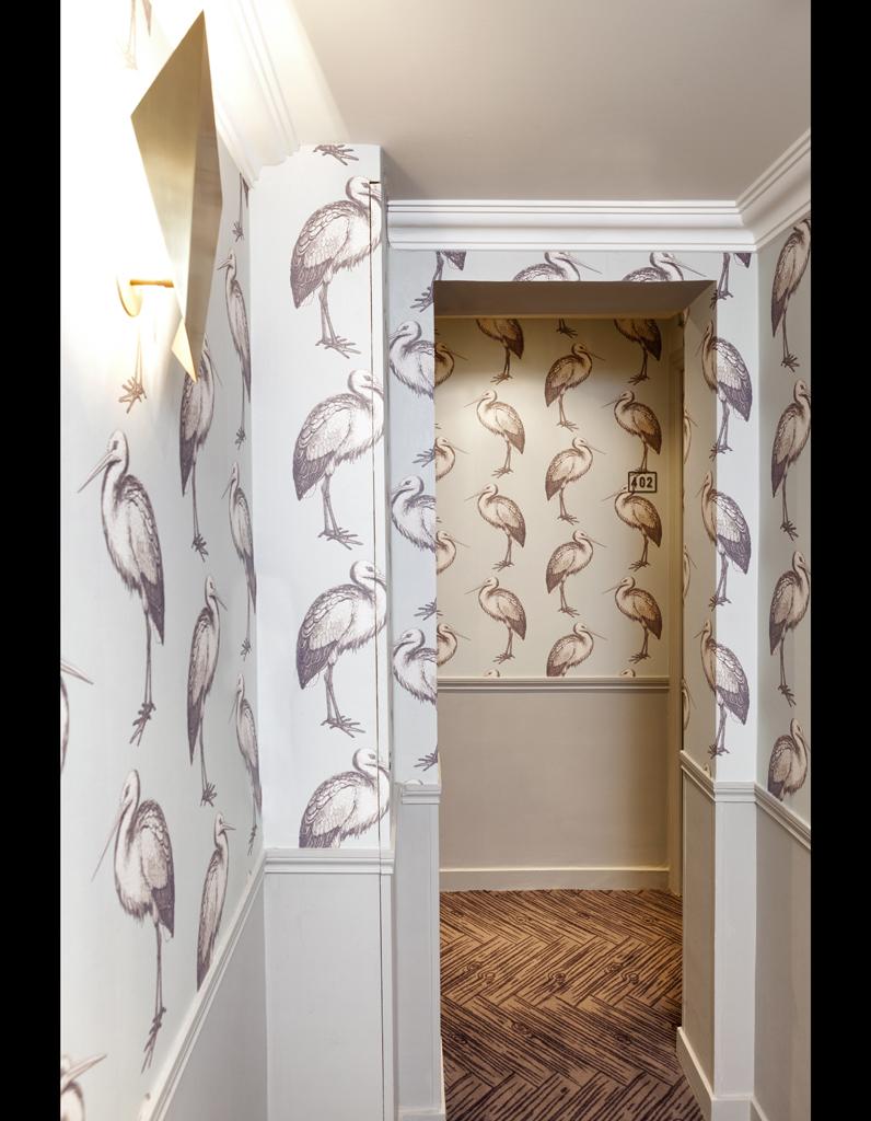 Papier Peint Entre Couloir Top Meuble De Couloir Bel