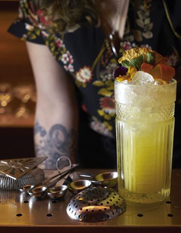 Mocktail La Nana Ananas Et Citron Pour 1 Personne