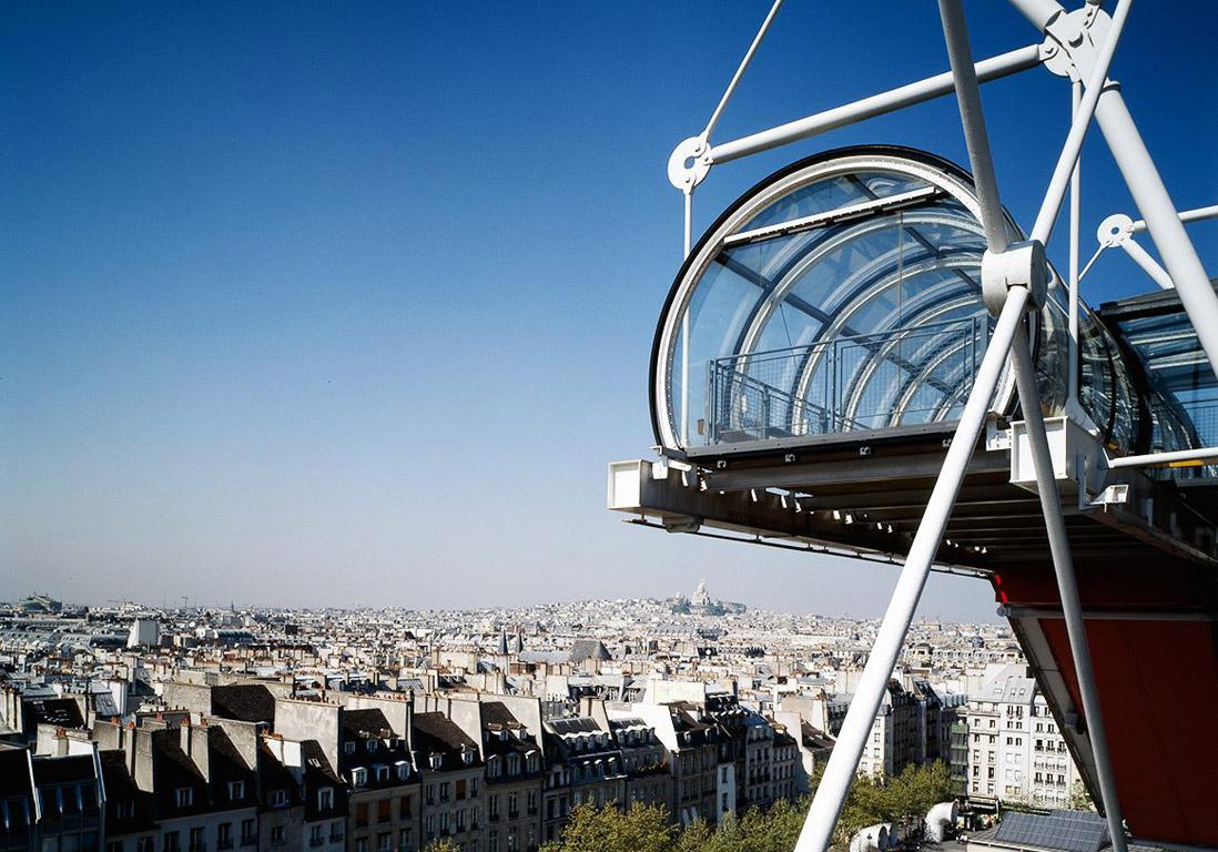 Centre national dart et de culture GeorgesPompidou  Monuments de Paris  ceux quil faut