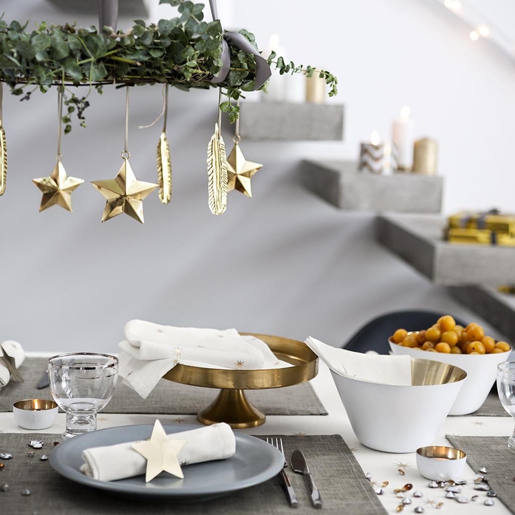 Table De Noël  Nos 43 Idées Déco  Elle