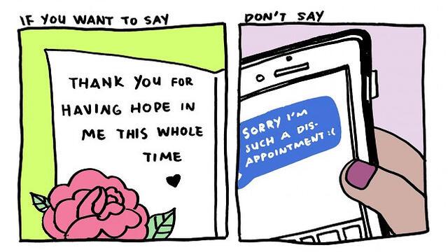 你絕對會驚奇它的神奇變化:當你想說「Sorry」時,試試改用「Thank you」!   manfashion這樣變型男