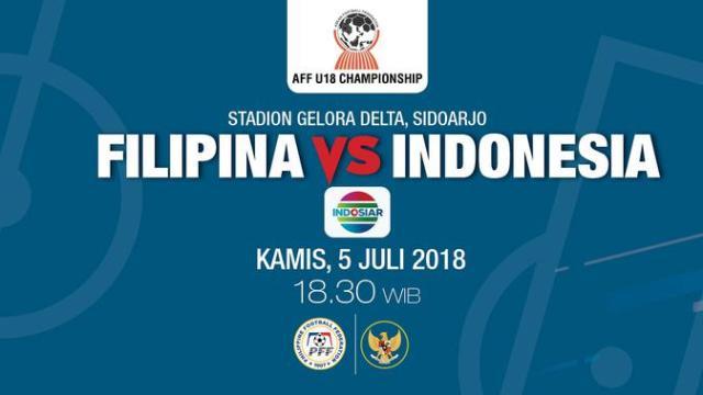 Live Streaming Piala AFF U-19 2018: Filipina Vs Indonesia ...