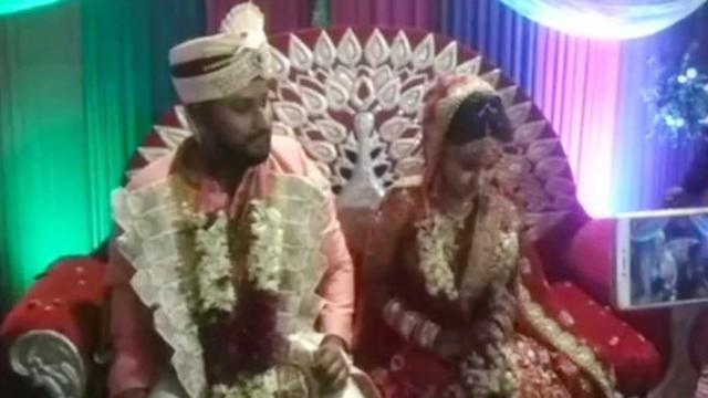 Tertembak Saat Perjalanan, Pria Ini Nekat Langsungkan Pernikahan