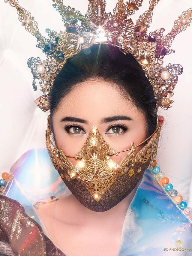 Gaya Dewi Perssik saat Pemotretan Single Terbaru (sumber: instagram/fdphotography90)