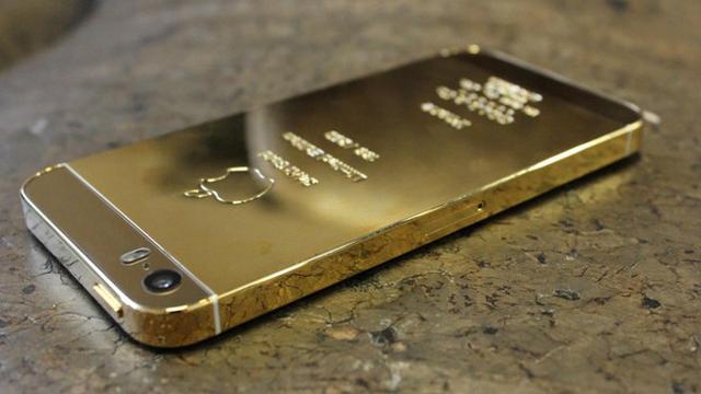 iPhone berlapis emas
