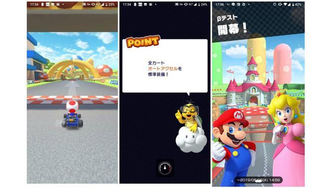 Penampakan bocoran Mario Kart Tour di internet. (Doc: Resetera)