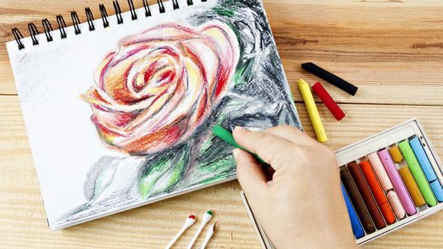 Cara Menggambar Bunga Mawar dengan Mudah, Cocok untuk Anak-Anak ...