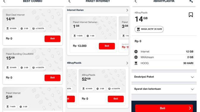 Aplikasi MyTelkomsel error (News/ Agustin Setyo W)