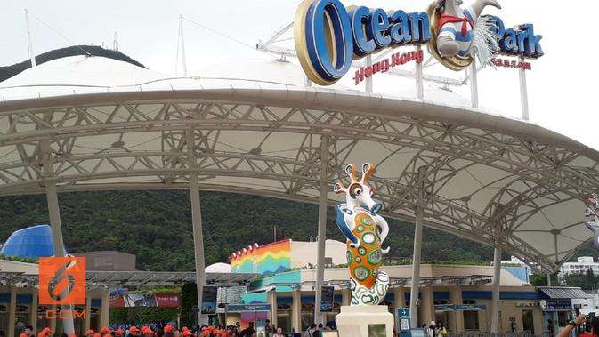 Ocean Park Hong Kong memiliki lebih dari 80 wahana permainan (Liputan6.com/Komarudin)