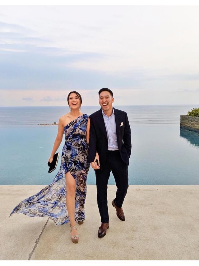Momen Kebersamaan Vanny Istarinda dan Arya Bakrie yang Baru Resmi Lamaran