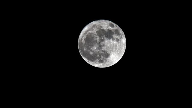 Supermoon di Prancis