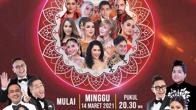 Live Streaming Indosiar LIDA 2021 Konser Top 56 Grup 6 Merah, Tayang Jumat 9 April 2021 Pukul 20 ...