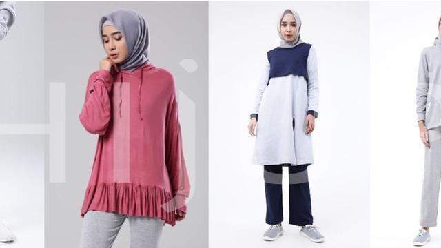Busana olahraga untuk hijabers