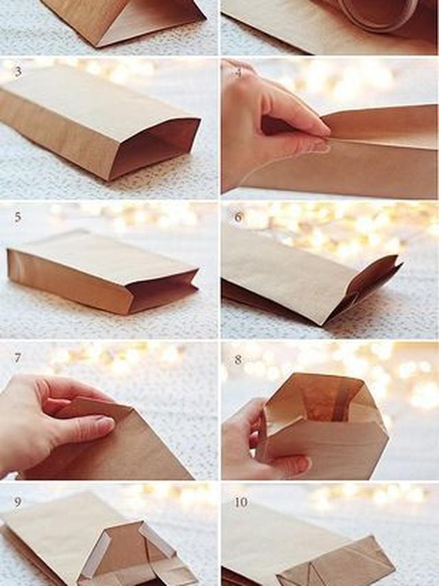 Cara Membuat Kotak Kemasan : membuat, kotak, kemasan, Membuat, Paper, Untuk, Makanan,, Kurangi, Sampah, Plastik, Liputan6.com
