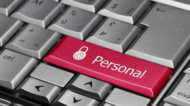 Ilustrasi data pribadi