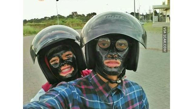 Kami toko kaos metallica online terpercaya yang. 6 Kelakuan Cowok Pakai Masker Wajah Ini Bikin Ketawa Hot Liputan6 Com