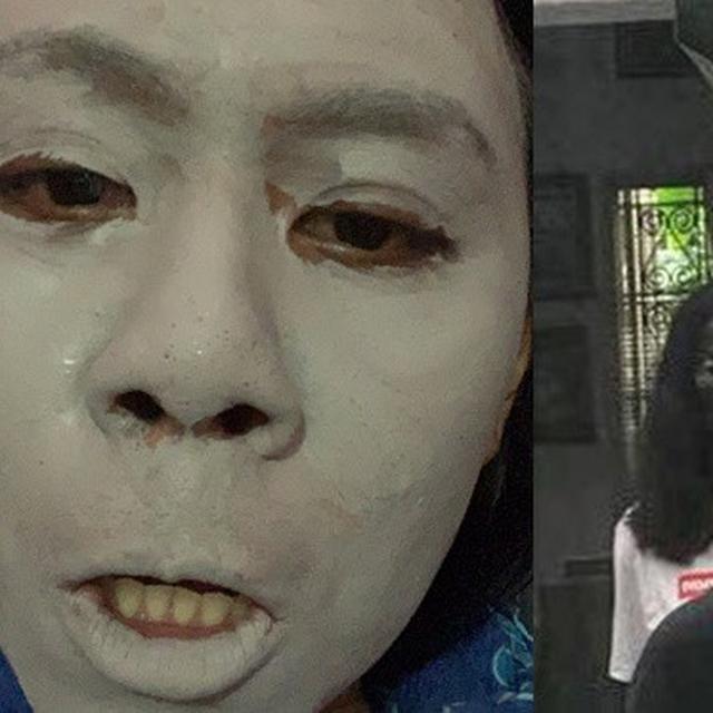 Onky mempunyai nama lengkap onky ray irawan. Potret 6 Orang Pakai Masker Ini Hasilnya Bikin Kaget Hot Liputan6 Com