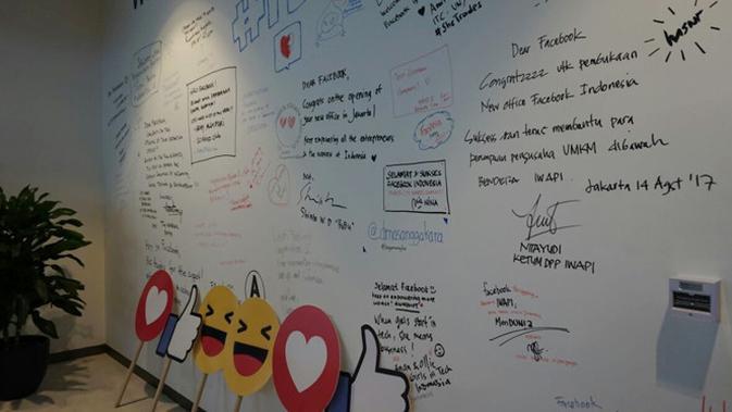 Kantor Facebook Indonesia. (News/Agustin Setyo Wardani)