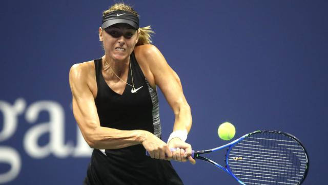 Petenis Spanyol Singkirkan Maria Sharapova di 16 Besar AS Terbuka 2018