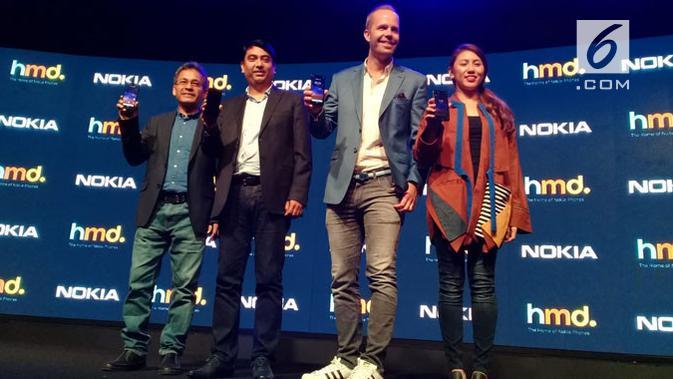 HMD Global resmi meluncurkan smartphone terbarunya, yakni Nokia 2.2. (News/ Linda Fahira Putri)