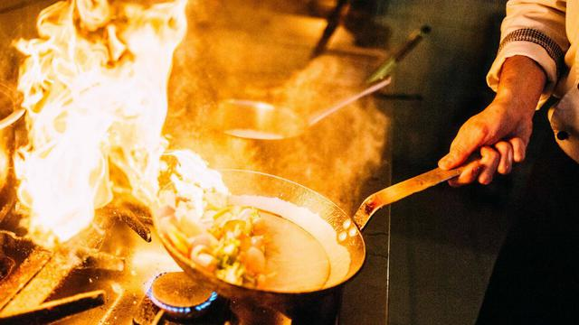 Ilustrasi memasak