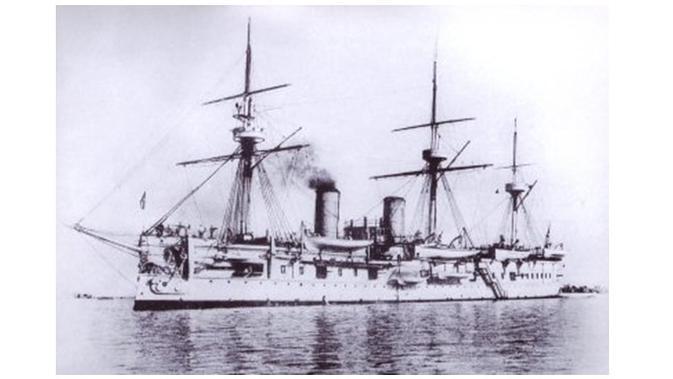 Kapal Dmitrii Donskoi (sumber: dailymail)