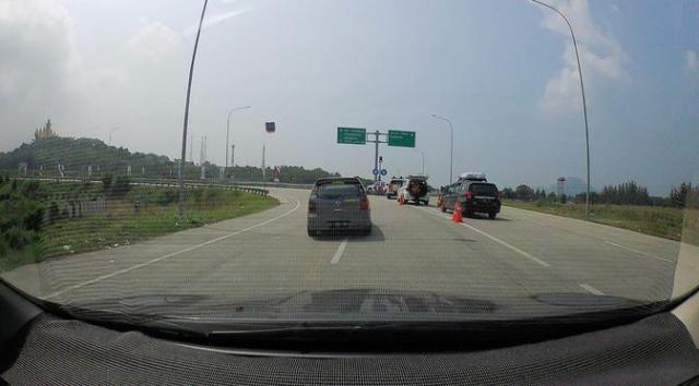 Jalan Tol Trans Sumatera, Bakauheni, Bandar Lampung. (Doc.Doni Syafar Diman)