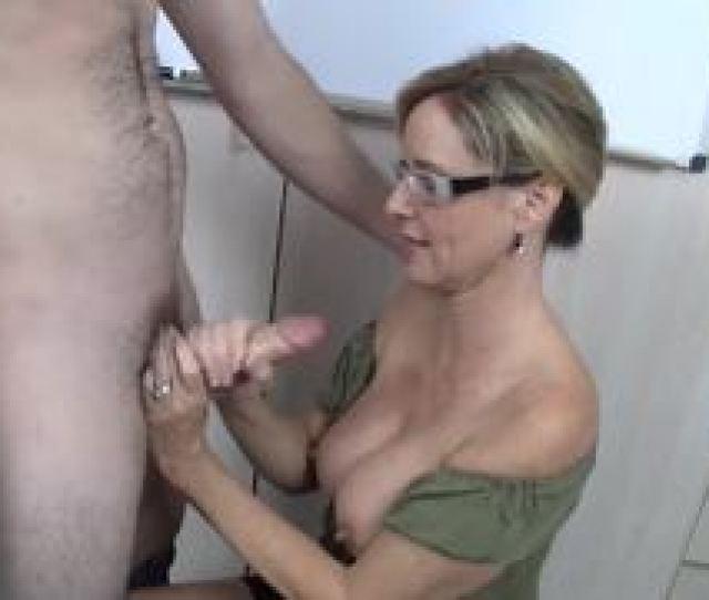 Jodi West Tugs On This Hard Dick