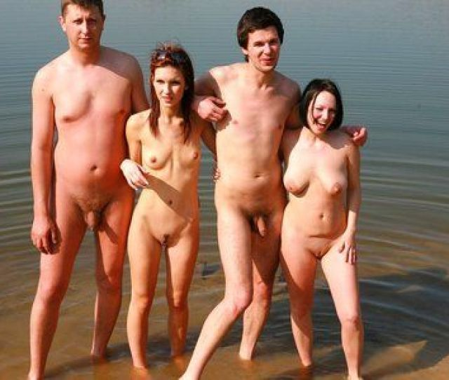 Hot Beach Get Together With Young Naked People