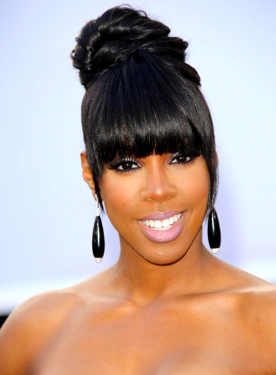 Black Hairstyles With Bangs Beauty Riot