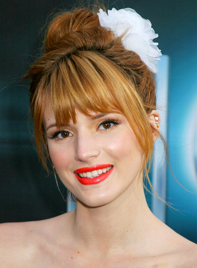 Formal Hairstyles With Bangs Beauty Riot