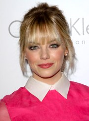 updos with bangs - beauty riot