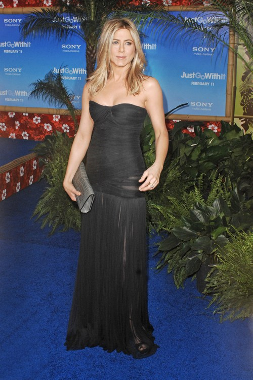 Jennifer Aniston Nicole Kidman And More Attend Premiere Of Just Go With It