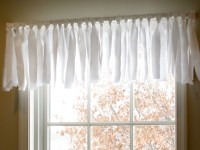 DIY Easy No Sew Window Valance (Pottery Barn Inspired)