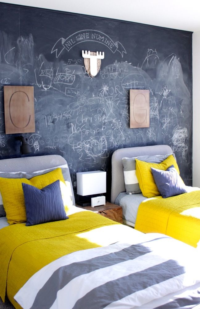 How To Add a Chalkboard Wall to Your Kids Room