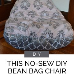 How To Sew Bean Bag Chair Covers Dublin Sale This No-sew Diy Is A Snap Make