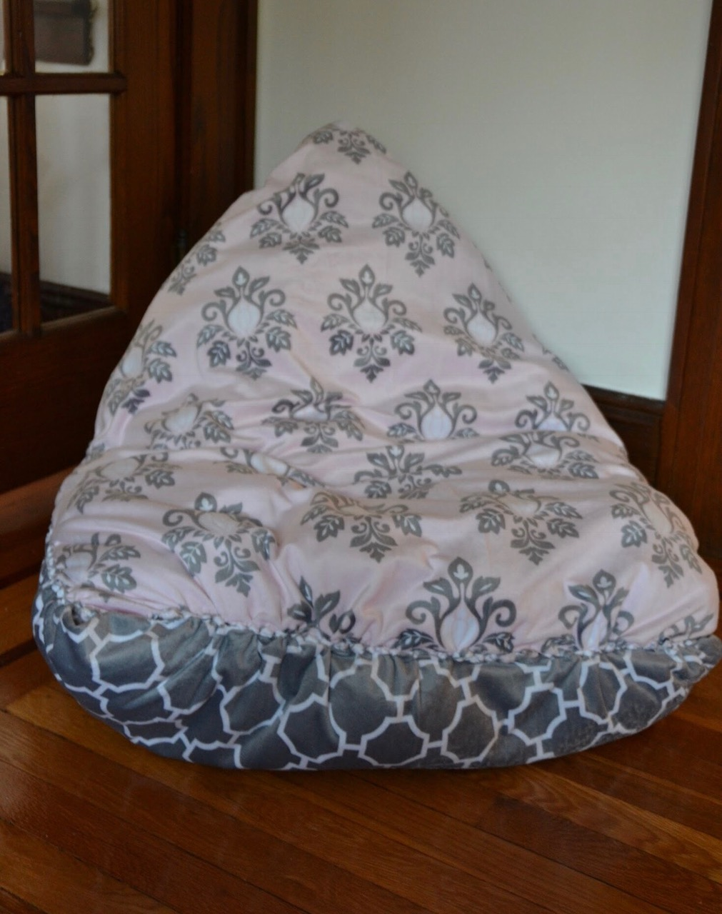 This NoSew DIY Bean Bag Chair Is A Snap To Make