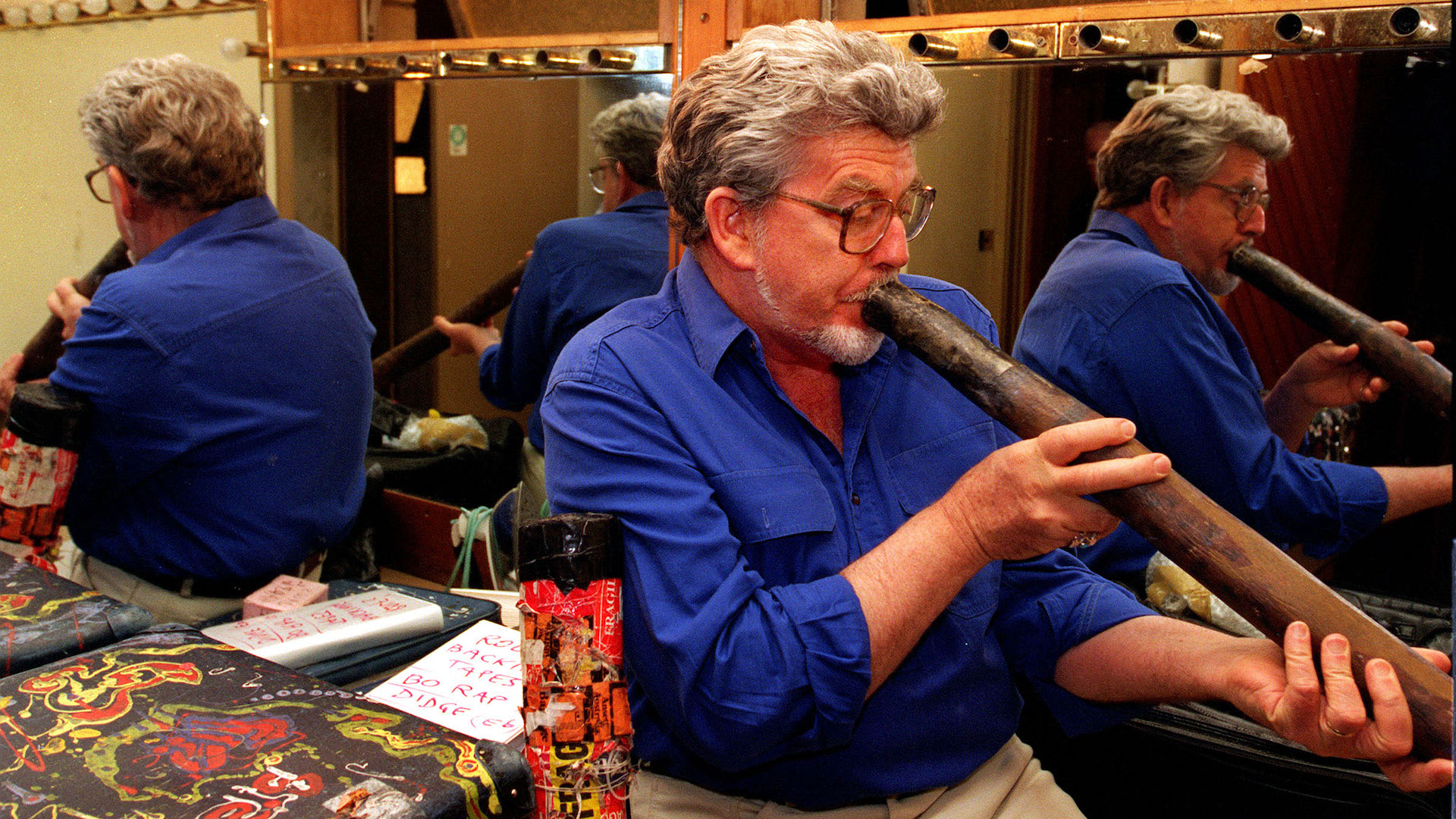 Rolf Harris Reportedly Annoying Prison Guards With Weird