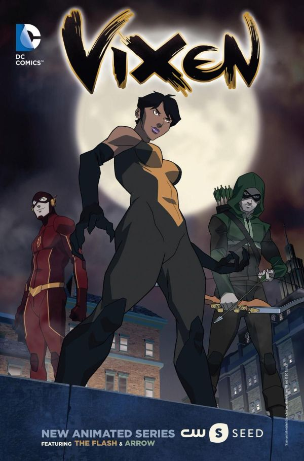 Dc Hero Vixen Animated Series Cw Seed Featuring