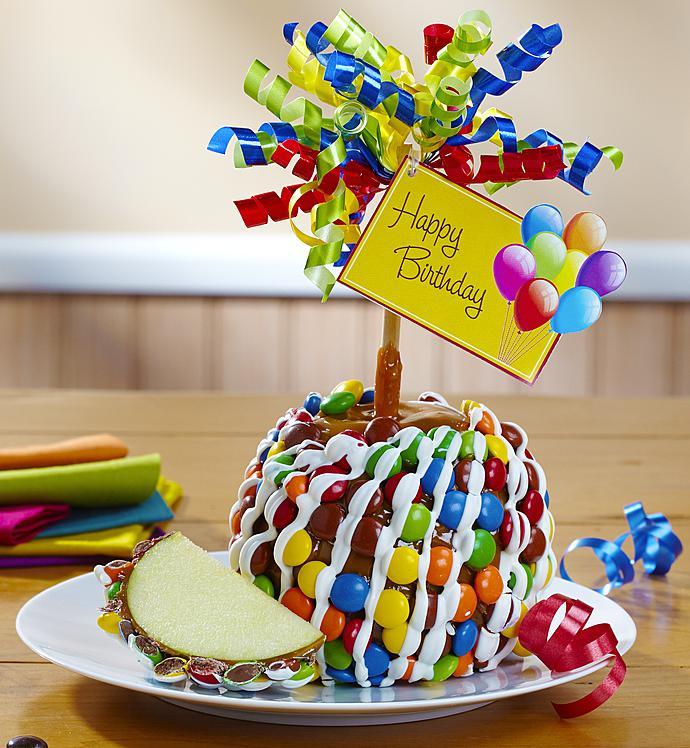 happy birthday caramel apple