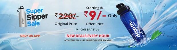 Super Sipper Sale | Register Now Option | Droom